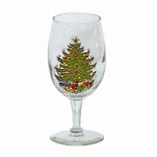 Cuthbertson Christmas Tree Wine Glasses