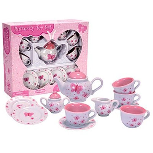 Schylling Schylling Butterfly Tea Set