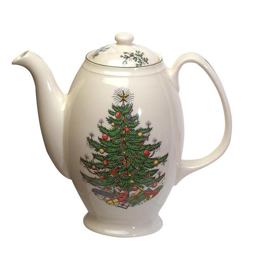 Cuthbertson Christmas Tree Coffee Pot