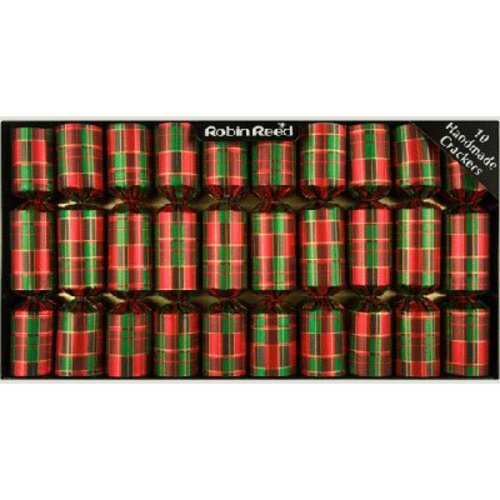 Robin Reed Robin Reed Christmas Crackers - Tartan - 10 Count