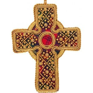 St. Nicolas St. Nicolas Tartan Celtic Cross