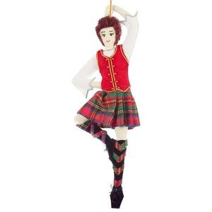 St. Nicolas St. Nicolas Highland Dancer Ornament
