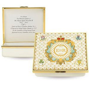 Halcyon Days Halcyon Days Royal Cypher Rectangular Box