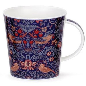Dunoon Cairngorm Arts & Crafts Strawberry Thief Mug