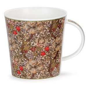 Dunoon Cairngorm Arts & Crafts Golden Lily Mug