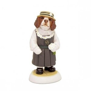 Robert Harrop Harrop's Liver/White Springer Spaniel Puppy, School Girl