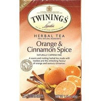 Twinings 20 CT Orange and Cinnamon Spice Herbal
