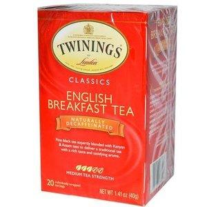 Twinings Twinings 20 CT English Breakfast, Decaf