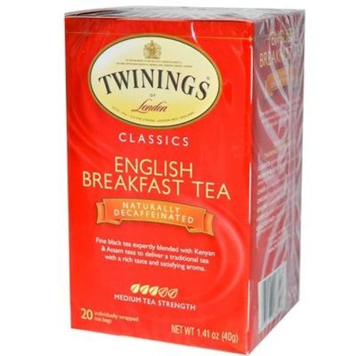 Twinings Twinings 20 CT English Breakfast Decaffeinated