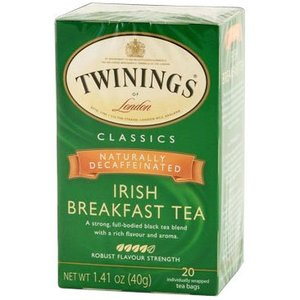 Twinings Twinings 20 CT Irish Breakfast Tea, Decaffeinated