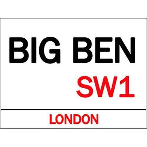 Original Metal Sign Co. Original Metal Sign Co. Big Ben Street Sign