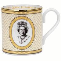 Halcyon Days Coronation Golden Trellis Mug
