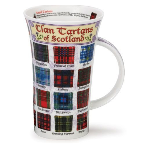 Dunoon Dunoon Glencoe Clan Tartans of Scotland Mug