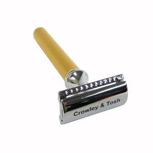 Crowley & Tosh Crowley & Tosh Gold Slimline Safety Razor