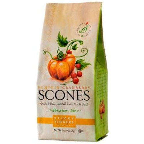 Sticky Fingers Sticky Fingers Pumpkin Cranberry Scone Mix