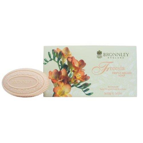 Bronnley Bronnley Freesia Box of 3 Soaps