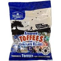 Walkers Nonsuch Assorted Toffees and Chocolate Eclairs Bag
