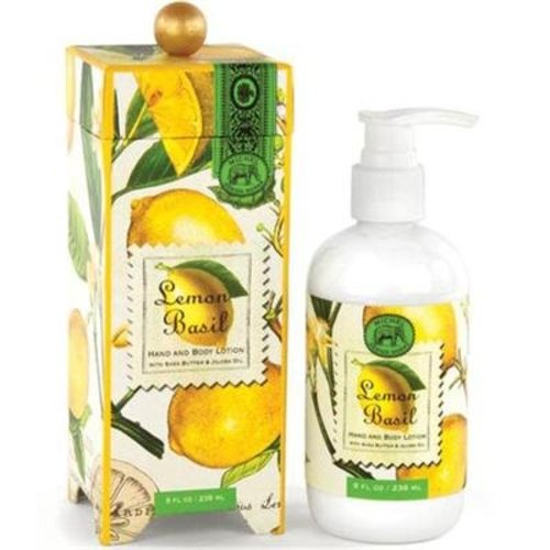 Michel Design Works Michel Lemon Basil Hand and Body Lotion