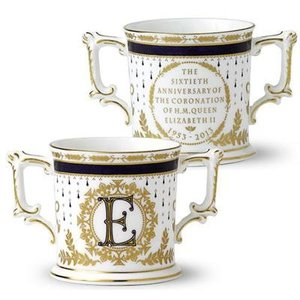 Royal Crown Derby Coronation Loving Cup - Limited Edition