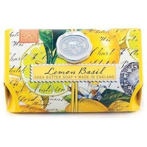 Michel Design Works Lemon Basil Large Bar Soap