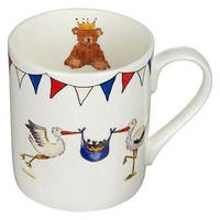 Crown Trent Royal Baby Mug - Storks