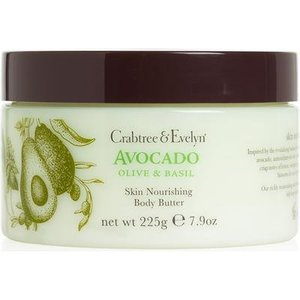 Crabtree & Evelyn C&E Avocado, Olive, and Basil Body Butter