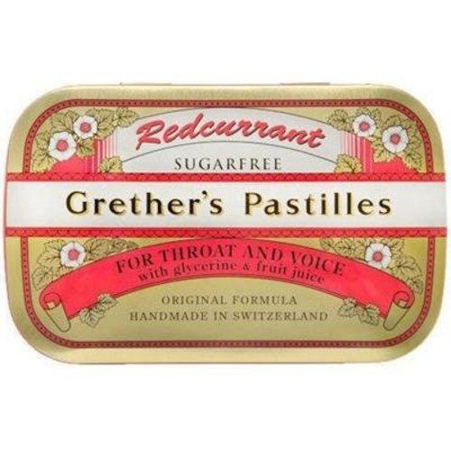 Grethers Redcurrant Pastilles - Sugar Free