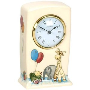 Moorcroft Pottery Nursery Clock
