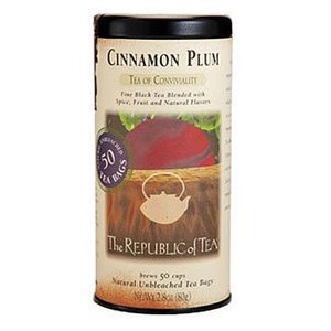 Republic of Tea Cinnamon Plum Black Tea