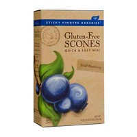 Sticky Fingers Gluten Free Scone Mix - Wild Blueberry