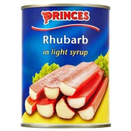Prince's Rhubarb in Light Syrup
