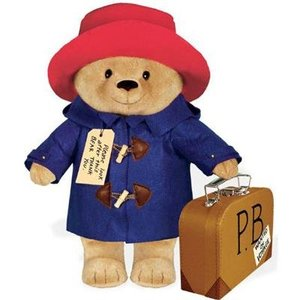 Paddington Bear Large Paddington Bear with Suitcase