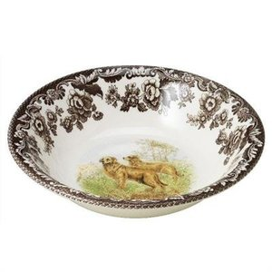 Spode Spode Woodland Ascot Cereal Bowl Golden Retriever