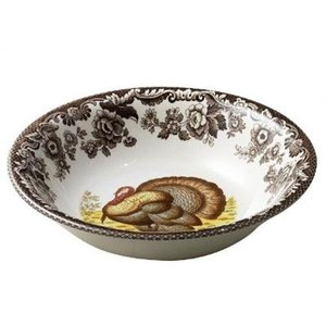 Spode Spode Woodland Ascot Cereal Bowl Turkey
