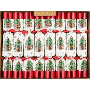 Robin Reed Christmas Cracker - Yule Tree - 8 Count