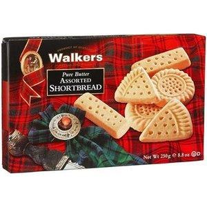 Walker's Shortbread Co. Walkers Pure Butter Assorted Shortbread Box