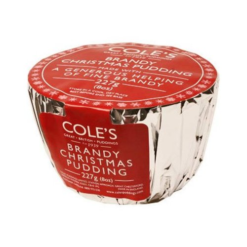 Cole's Foods Brandy Christmas Pudding - 227g