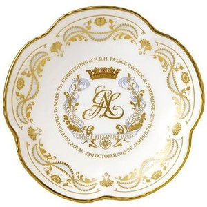 Royal Crown Derby Royal Crown Derby Royal Christening 5 Petal Tray
