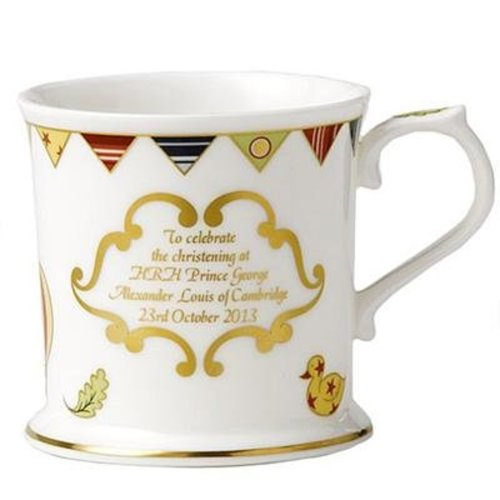 Royal Crown Derby Royal Crown Derby Royal Christening 2013 Child's Christening Mug