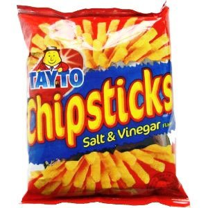 Tayto N.I. Tayto Chipsticks - Salt and Vinegar