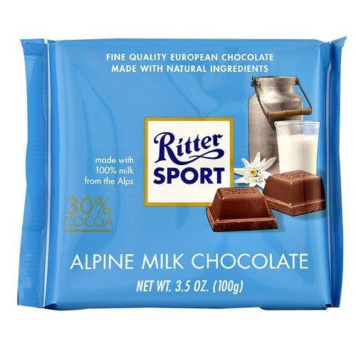 Ritter Sport Ritter Sport Alpine Milk Chocolate