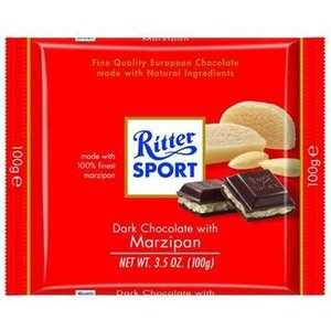 Ritter Sport Ritter Sport Dark Chocolate with Marzipan