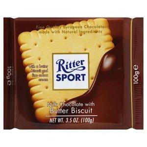 Ritter Sport Ritter Sport Milk Chocolate Butter Biscuit