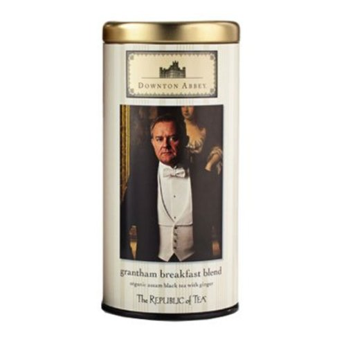 Republic of Tea Downton Abbey Grantham Breakfast Blend Tea