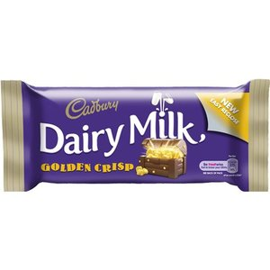Cadbury Cadbury Dairy Milk Golden Crisp Bar