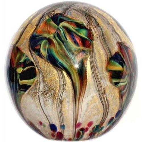 Jonathan Harris Jonathan Harris Eden Glass Paperweight - Tiger's Eye