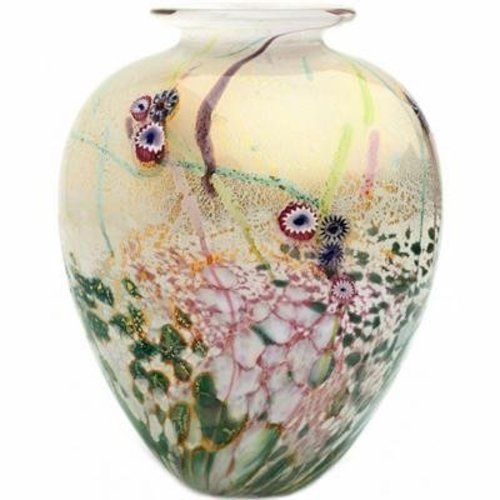 Jonathan Harris Jonathan Harris Wilderness Glass Vase - Opal