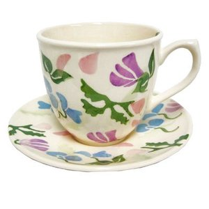 Peregrine Pottery Peregrine Pottery Sweet Pea Cup and Saucer