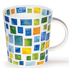 Dunoon Dunoon Lomond Piazza Mug - Blue/Green