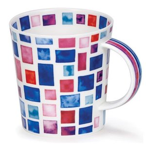 Dunoon Lomond Purple/ Blue Piazza Mug